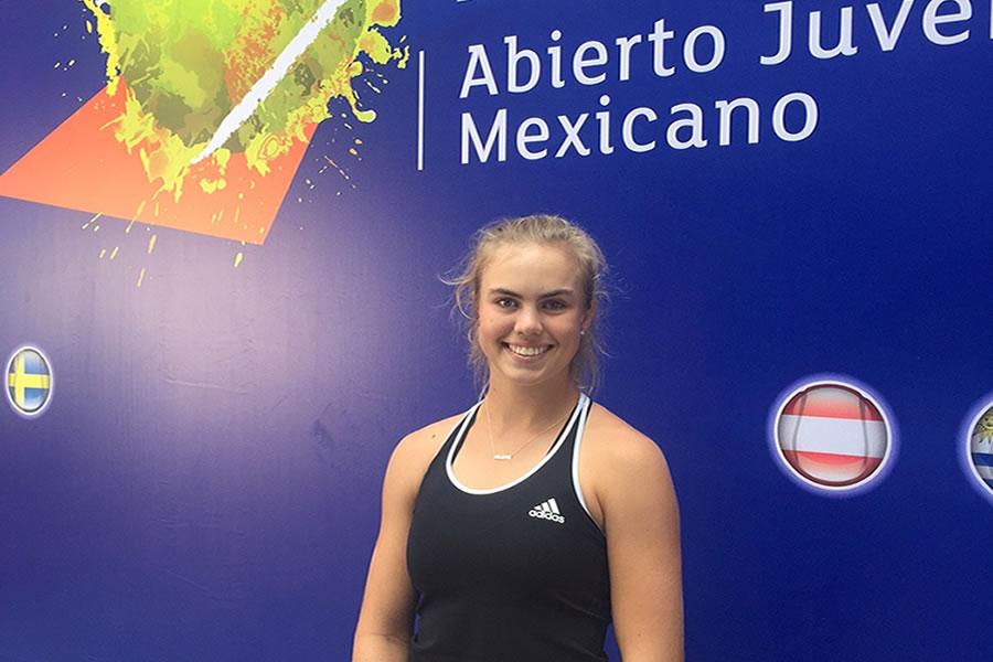 ELLIE DOUGLAS, CON SED DE REVANCHA EN EL ABIERTO JUVENIL MEXICANO 2017