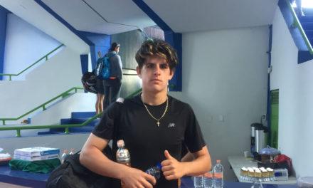Daniel Moreno muestra potencial frente al sembrado número uno
