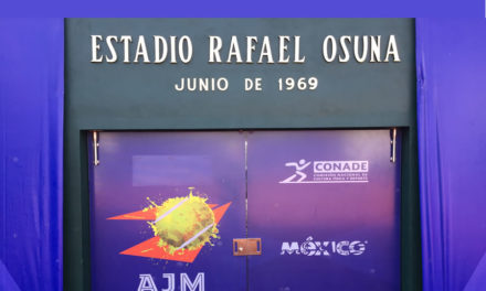 The Rafael Osuna Stadium of the AJM– do you know who was Rafael Osuna?