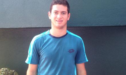 """Nicolás Mejía: ya en cuartos del """"quinto Grand Slam"""""""